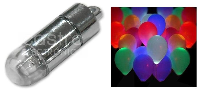 Lampada 18 LEDs ESPECIAL BALÕES RGB IP65