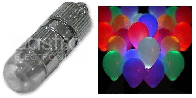 Lampada 18 LEDs ESPECIAL BALÕES RGB IP20