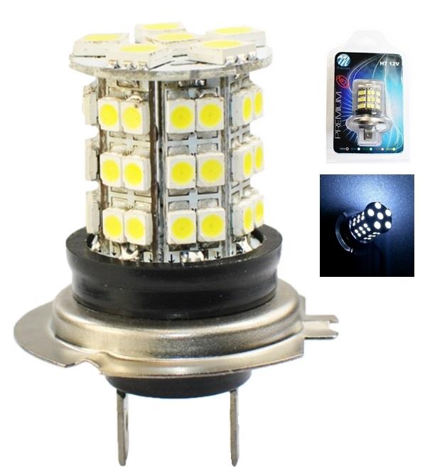 Lampada 48 LEDs SMD H7 12V Branco 6000K