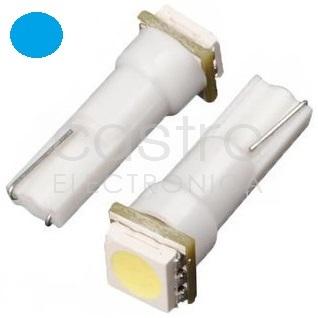 Blister 2x Lampadas 1 LED SMD 12V T05 - Azul