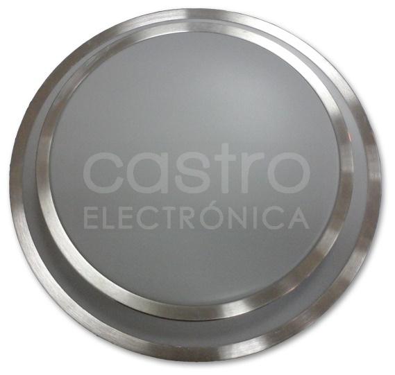 Candeeiro Plafon em LED 10W 3000K 800Lm c/ Opção Luz Emergência (Bateria)