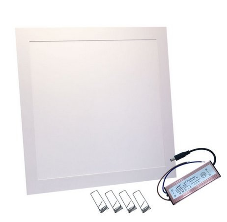 Painel de LED Quadrado (40 x 40 cm) Branco F. 6000K 30W 2200Lm - ProFTC