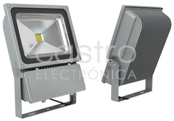 Projector LED IP65 12/24V 80W Branco F. 6000K 5600Lm