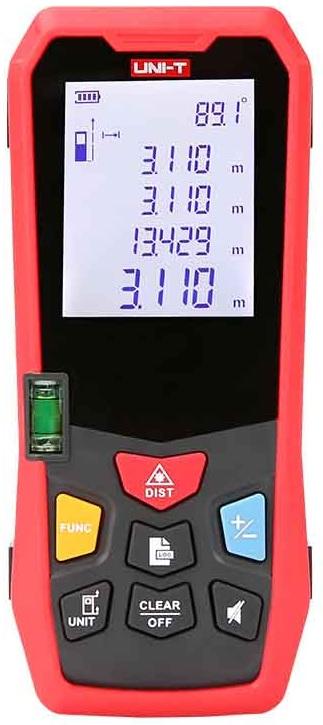 Medidor de Distâncias a Laser 2 (120 mts) - UNI-T