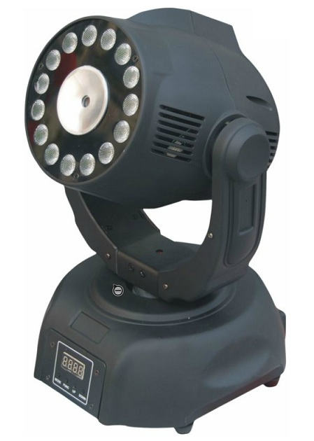 Moving Head LED 15 Canais DMX c/ Laser 60mW - AFX LIGHT