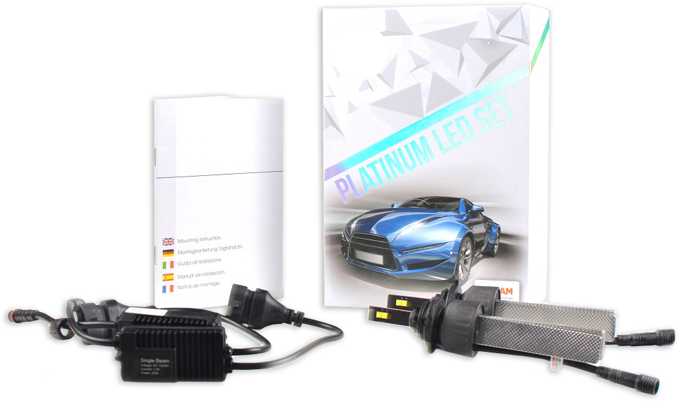 Kit 2x Lampadas Cree LED Platinum HB4 6000K 40W 5200Lm (Substitui Xenon) - M-TECH / OSRAM