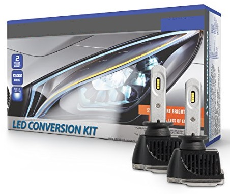 Kit 2x Lampadas Cree LED H1 6000K 48W 5200Lm (Substitui Xenon) - M-TECH