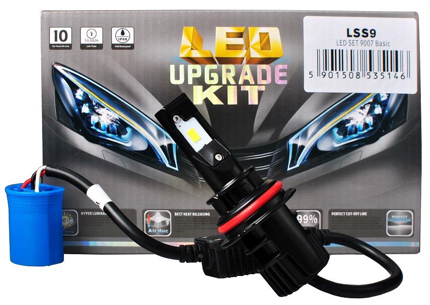Kit 2x Lampadas Cree LED H9 (HB5 9007) 6000K 32W 5200Lm (Substitui Xenon) - M-TECH