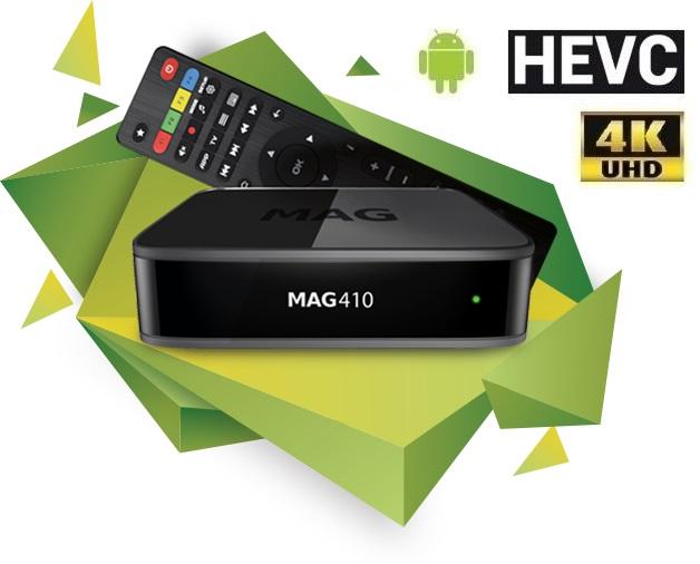 Receptor UltraHD 4K ANDROID 6.0 Wi-Fi Televisão - IPTV Set Top Box
