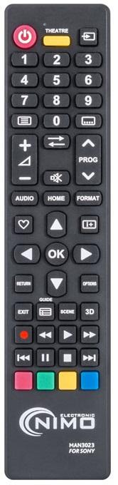 Comando Universal p/ TVs LCD SONY