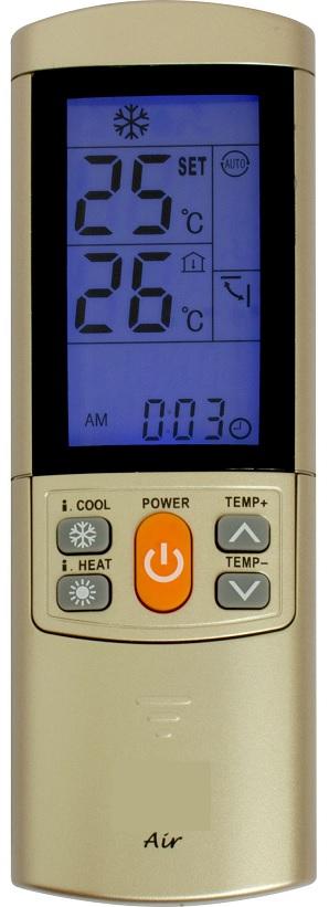 Comando Universal Ar Condicionado +4000 MARCAS - ProFTC