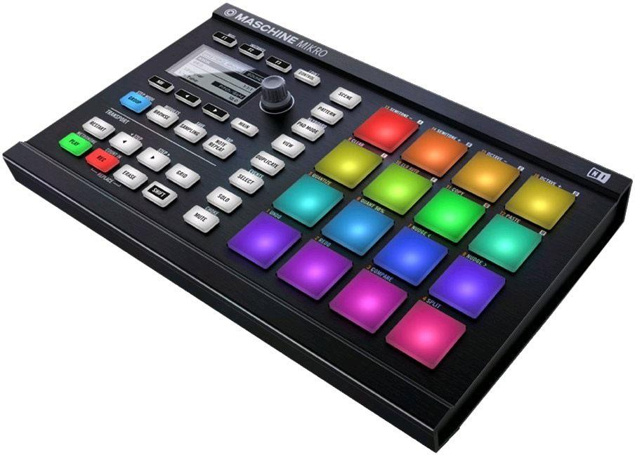 Controlador Efeitos USB TRAKTOR Preto (Maschine Mikro MK2) - Native Instruments