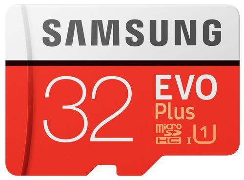 Cartão Memória EVO Plus MicroSDHC UHS-I 32GB c/ Adaptador SD (Class 10) - SAMSUNG