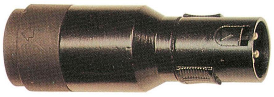 Ficha Adaptadora Canon Macho 3P - Speakon Fêmea (XLN 4 Contactos) - ProFTC