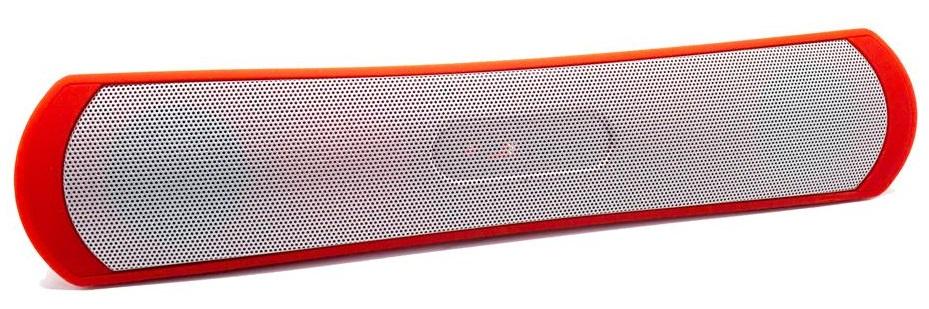 Barra de Som SOUNDBAR 2.1 6W Bluetooth (Vermelho) - BIWOND