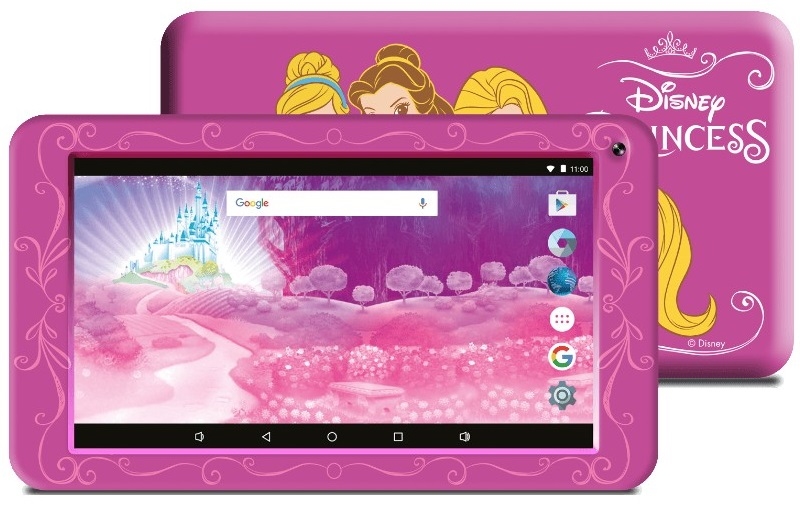 Tablet 7´ Themed Pink Disney Princess 8GB (Inclui Capa) - eSTAR