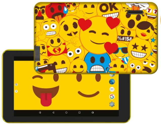 Tablet 7´ Themed Emoji 8GB (Inclui Capa) - eSTAR