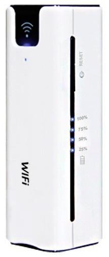 MIFI Router 4G + Power Bank 2200mAh + Partilha Cartão Externo MicroSD - ProFTC