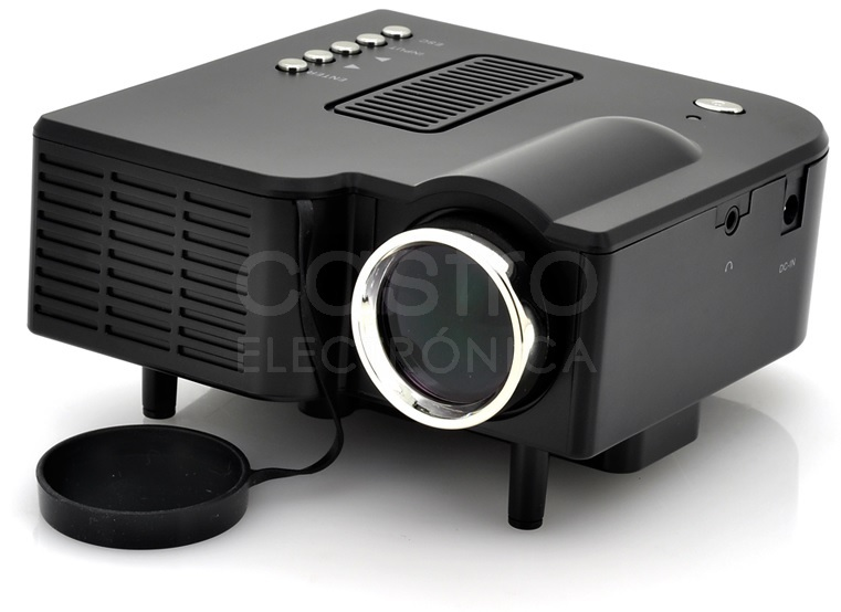 Video Projector Mini LED (AV/ USB/ SD/ VGA/ HDMI) - Skytronic