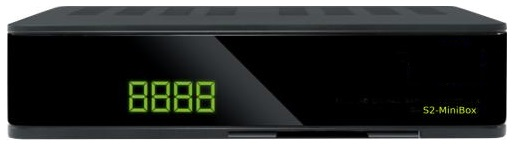 Receptor Satélite Mini Full HD Ethernet c/ RS232 (S2-MiniBox) - ProFTC