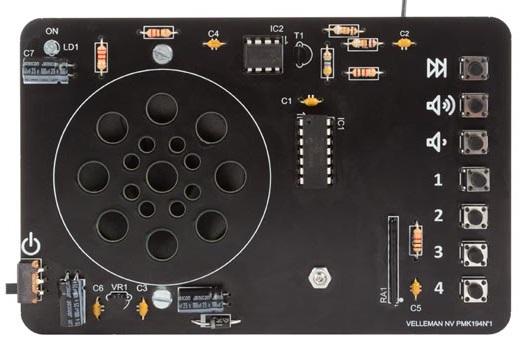 Kit Rádio FM c/ Controlo Digital - MK194N