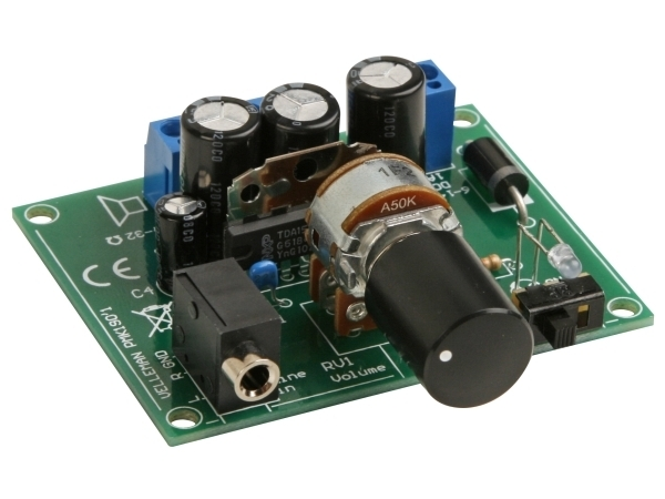 Kit Amplificador 2 x 5 W p/ Leitor MP3