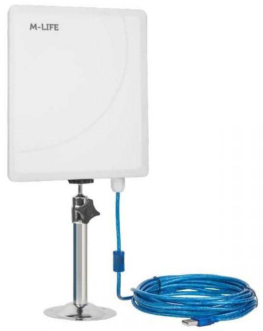 Antena WiFI Exterior IP65 5,8Ghz 23dBi - M-LIFE