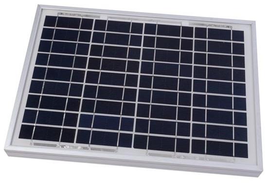 Painel Fotovoltaico Silicio Policristalino 10W / 18,2V - ProFTC