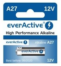 Pilha Alcalina 12V 27A - everActive