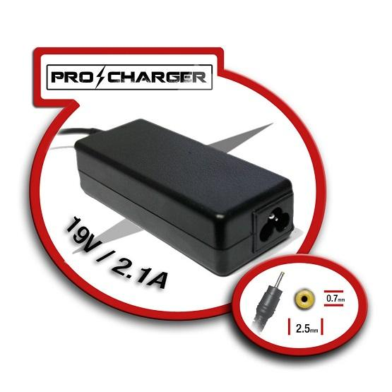 Carregador 19V 2.1A 2.5mmx0.7mm 36W ProCharger