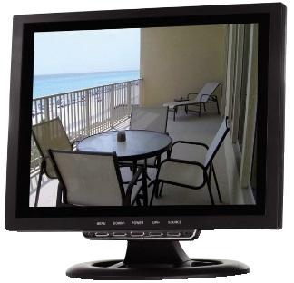 Monitor Digital LCD-TFT Audio 12 16:9 / 4:3 com Comando - ProFTC