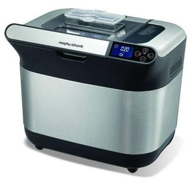 Máquina de Fazer Pão 19 Programas 600W (Inox) - MORPHY RICHARDS