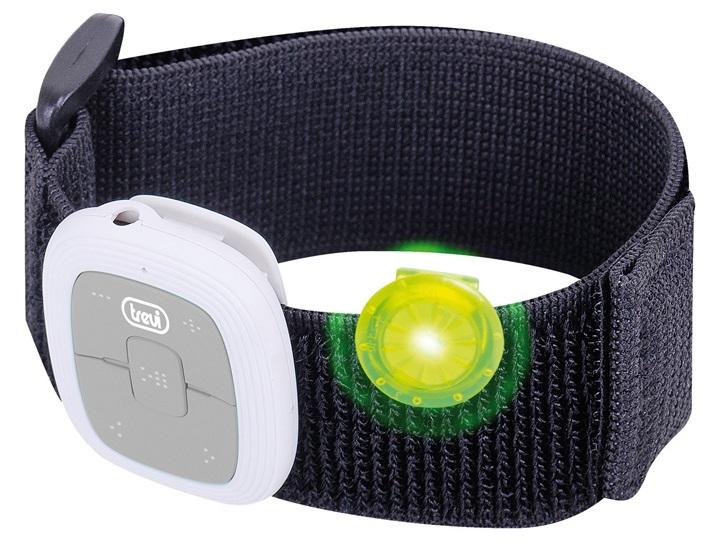 Leitor MP3 USB p/ Desporto (com Velcro) Cinza - TREVI