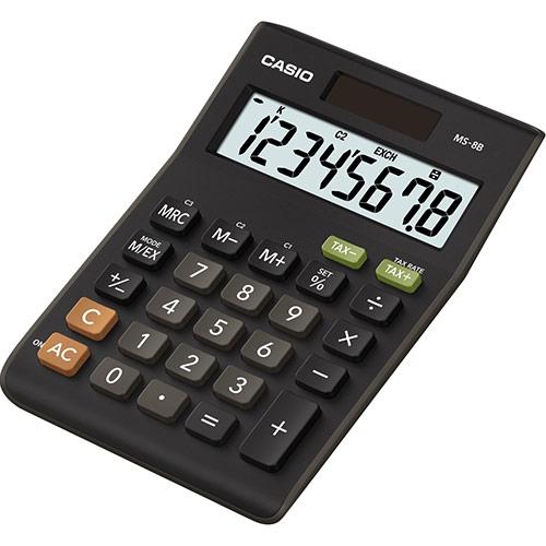 Calculadora de Secretária Compacta - CASIO