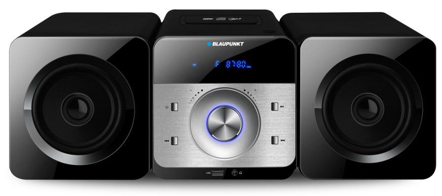 Sistema Hi-Fi 30W (CD, CD-RW, USB, MP3, FM e AUX) - BLAUPUNKT