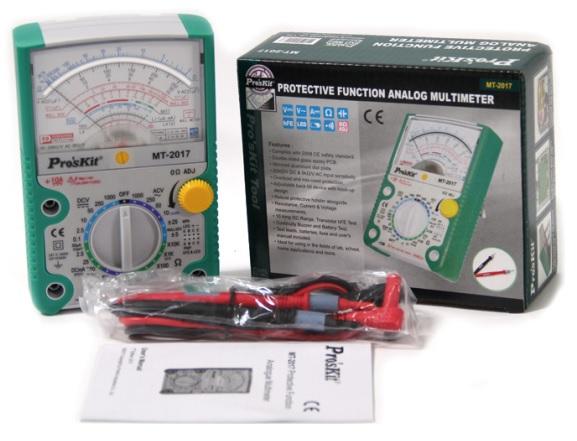 Multimetro Analógico c/ Função de Protecção - Proskit