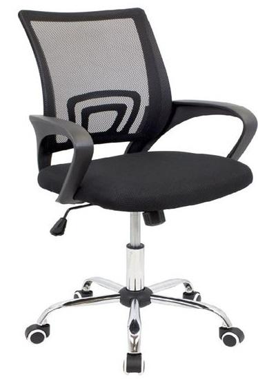 Cadeira de Escritório OF300 (Preto) - MUVIP