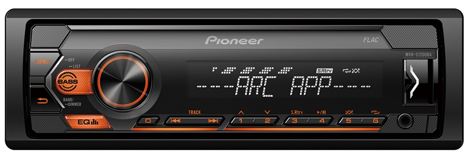 Auto Rádio RDS AM/FM 4x 50W MOSFET USB Android - Pioneer