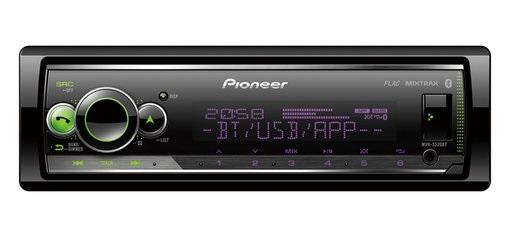 Auto Rádio RDS AM/FM 4x 50W MOSFET USB/AUX/BLUETOOTH - Pioneer