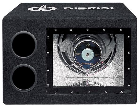 Subwoofer 10 500W + Amplificador - Dibeisi