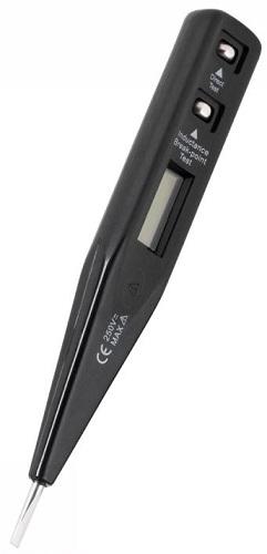 Detector de Tensão c/ LCD AC/DC 12-220V - KEMOT
