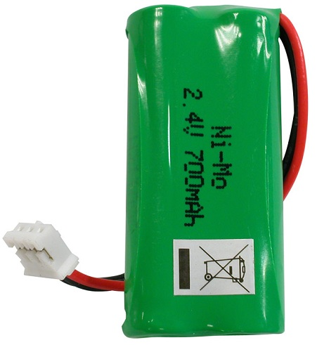 Bateria Acumuladora p/ Telefones s/ Fios 2x AAA 700mAh 2,4V - NIMO