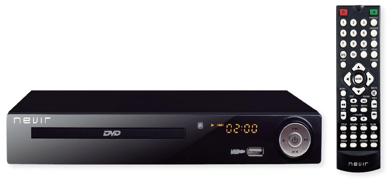 Leitor DVD com Receptor TDT HD e Gravador USB - NEVIR