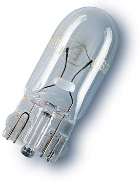 Lampada Halogéneo p/ Automóvel W2,1x9,5d 24V/3W W3W (2841) - OSRAM