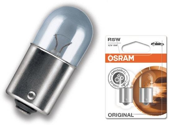 Lampada Halogéneo p/ Automóvel BA15s 12V/5W R5W (5007) - OSRAM