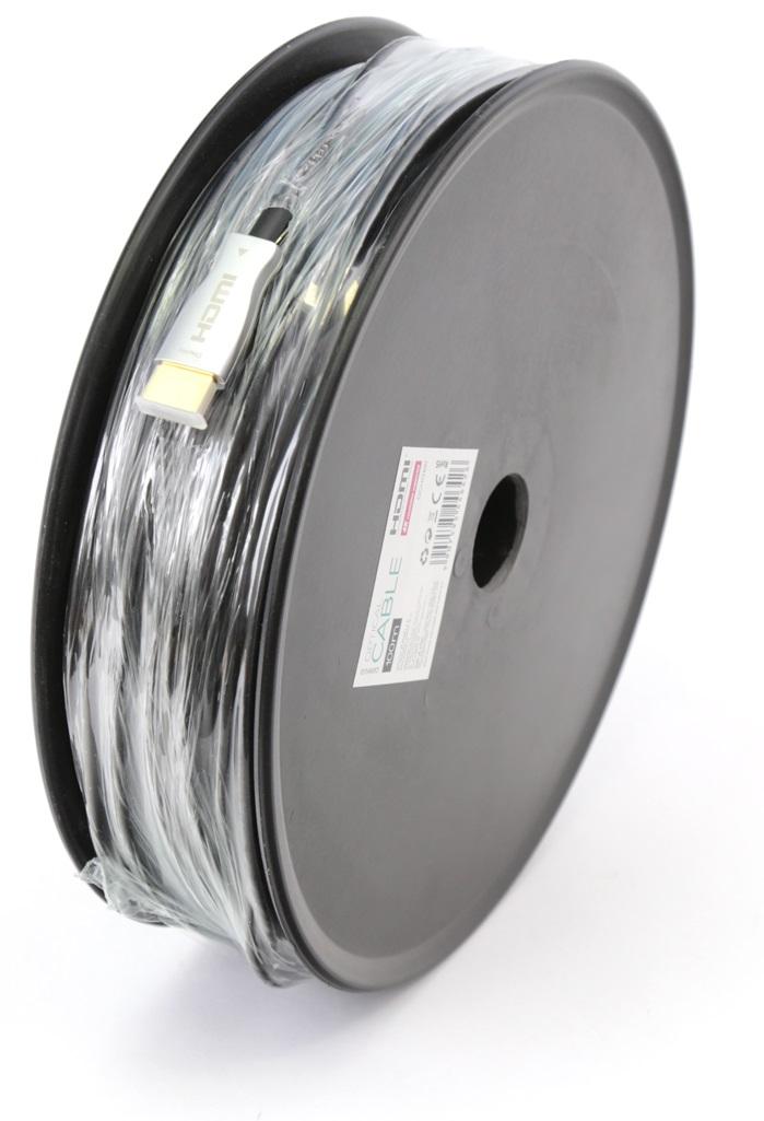 Cabo HDMI Óptico 3D (100 mts) - OMEGA