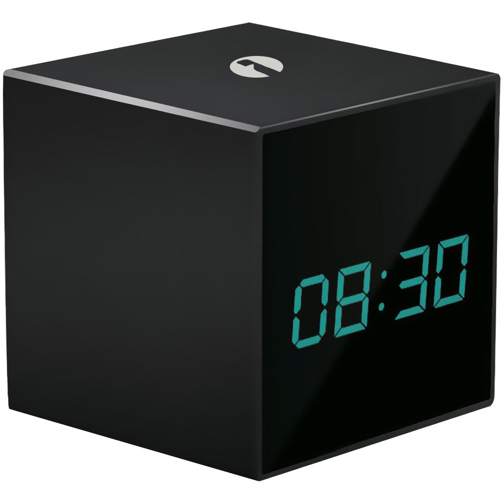 Despertador TimeCAM c/ Camara Oculta IP ONVIF HD 720P e Gravador - ISNATCH