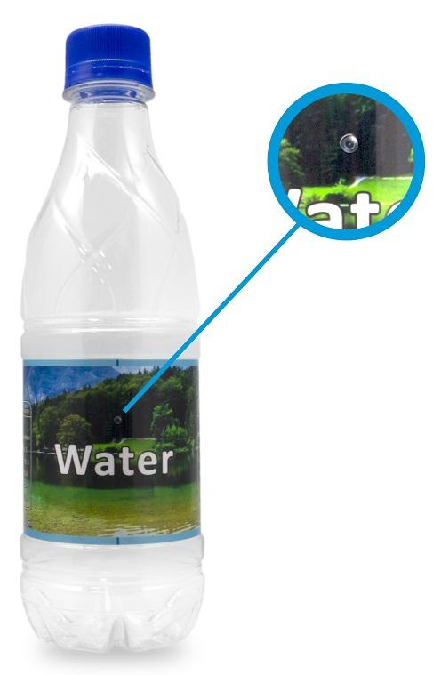 Garrafa de Água c/ Câmara Oculta Watergate - ProFTC