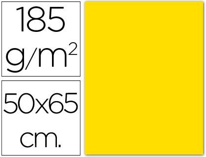 Cartolina Guarro 185 Gr 50X65 cm Amarelo Escuro