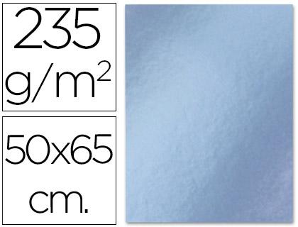 Cartolina Metalizada 50X65 cm, 235 Gr Prata